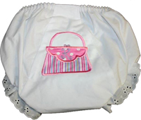 Monogrammed Purse Bloomers