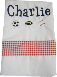 Sports Fun Pillowcase