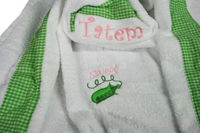 Sweet Pea Hooded Towel
