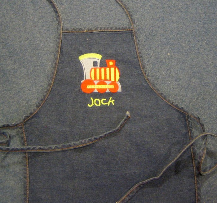 Choo Choo Train Apron