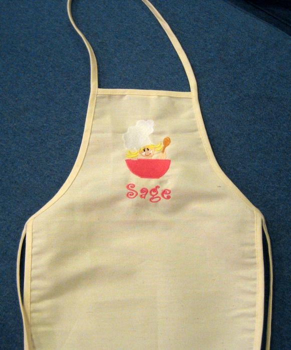 Little Pink Chef Apron