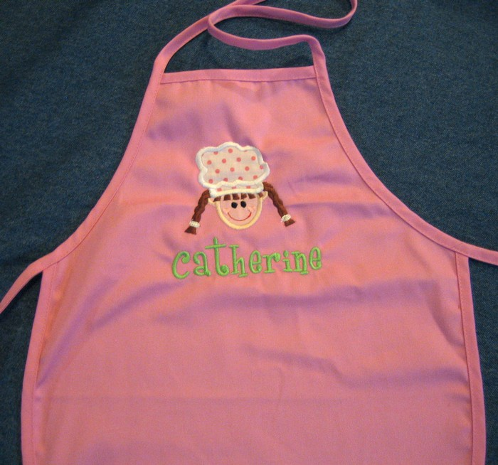Polka Dot Chef Hat Apron