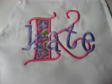 "The ""Kate"" Monogrammed Apron"