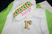 Sweet Apples Hooded Towel