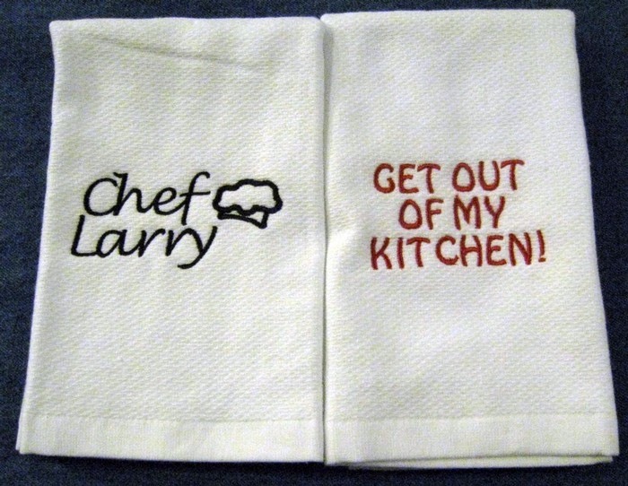 Get Out of My Kitchen Hostess Towel