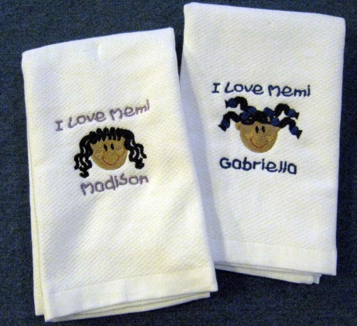 Sweet Faces Hostess Towel
