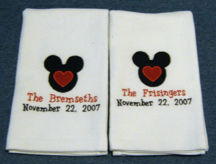 Mouse Ears Hostess Towel