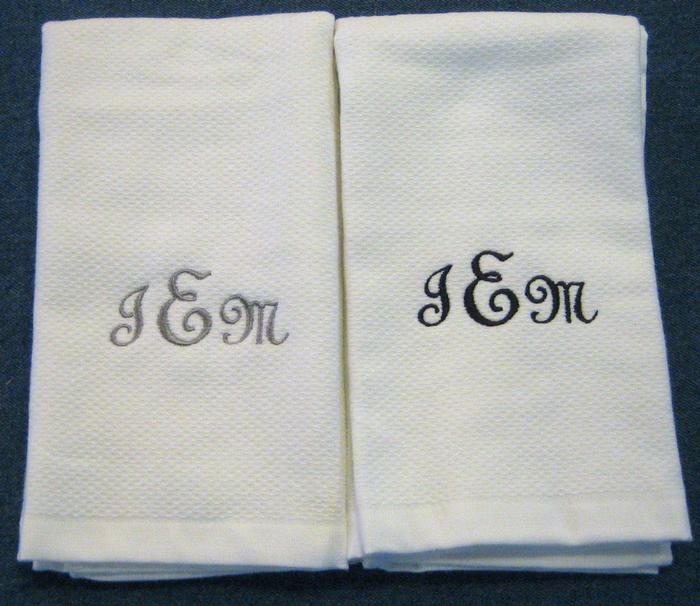 Exact Script Hostess Towel