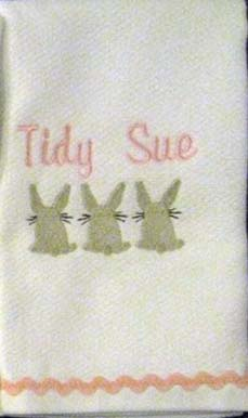 Easter Bunny Hostess Towel