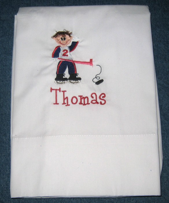 Hockey Boy Pillowcase