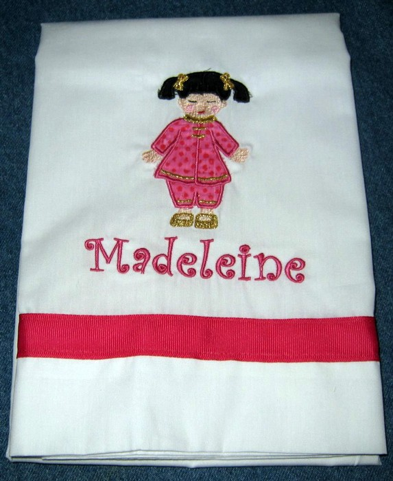 China Doll Pillowcase