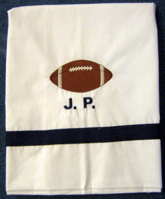 Football Pillowcase