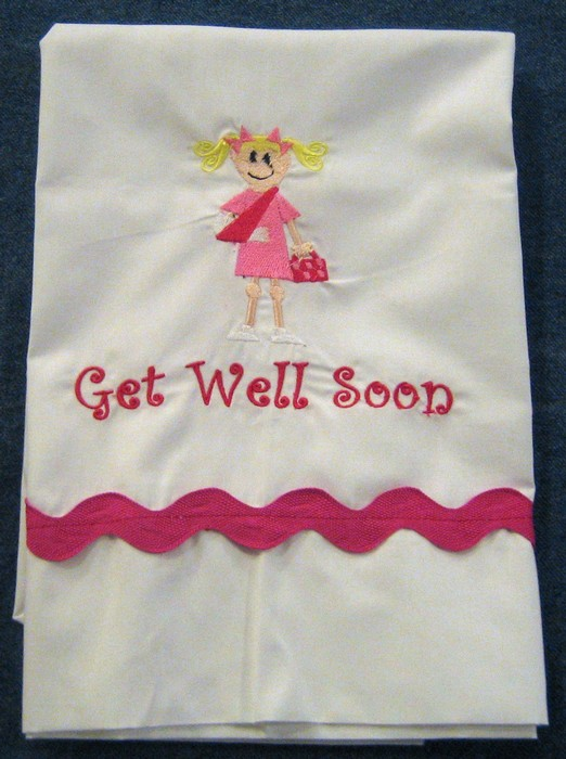 Get Well Soon Pillowcase