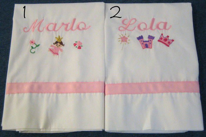Sweet Princess Pillowcase