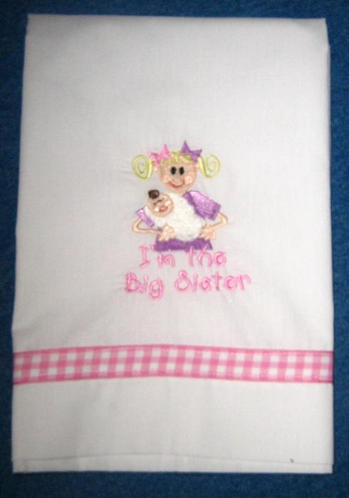 Big Sister Pillowcase
