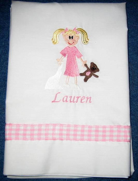 Girl Sleepover Pillowcase