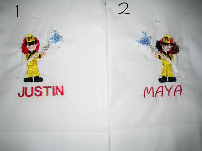 Fireman & Firewoman Pillowcase