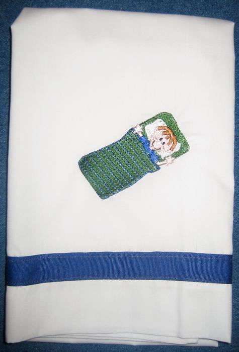 Sleeping Bag Boy Pillowcase