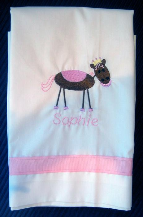Princess Pony Pillowcase