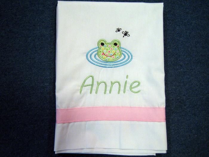 Froggy Pillowcase