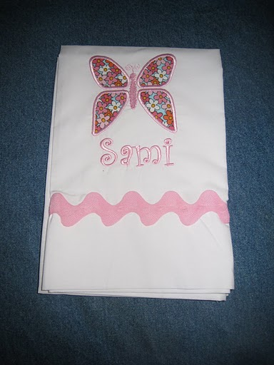 Classic Butterfly Pillowcase