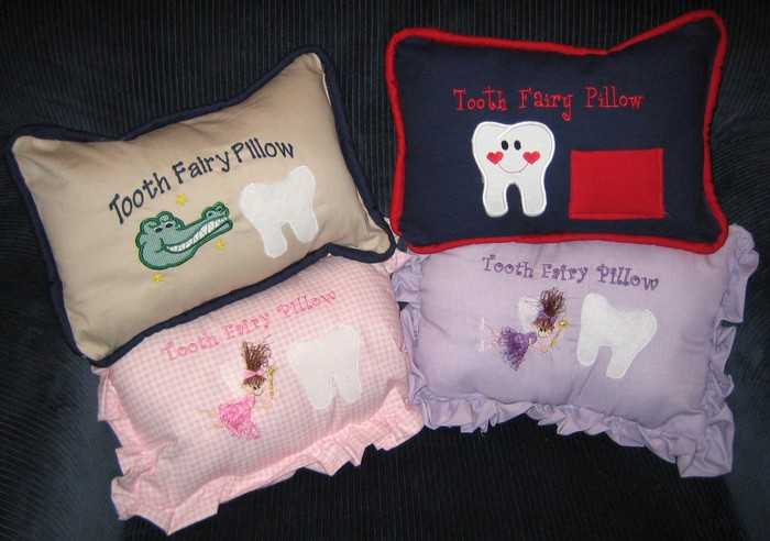 Custom Tooth Fairy Pillows