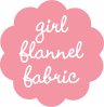 Girl Blanket Flannel Fabric