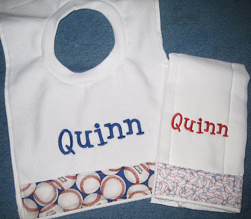 Little Slugger Baseball Bib