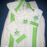 Frog Pond Hooded Towel