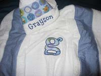 Baby Boy Hooded Towel